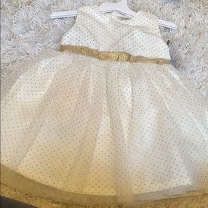 Baby Girl Tulle Sleeveless Dress with Diaper Cover